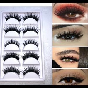 30 Pairs of 3D Mink Lashes - 6 Styles of Eyelashes
